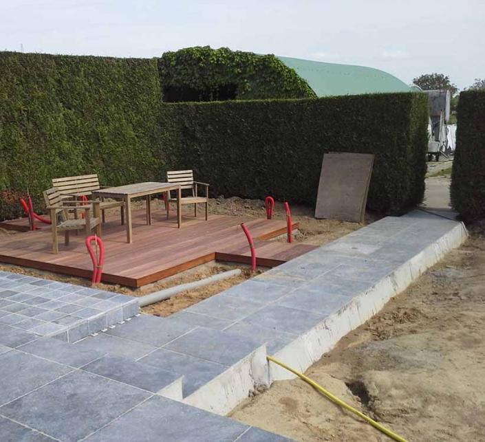 Feys-Schouppe terras aanleggen