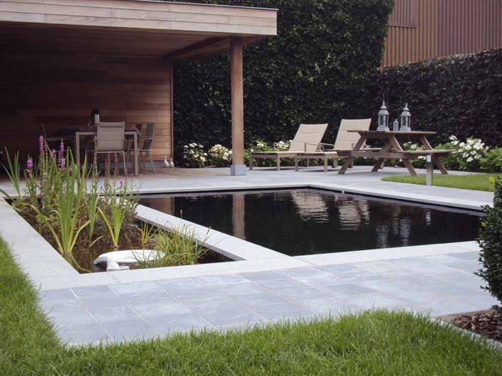 Feys-Schouppe aanleg tuin met vijver