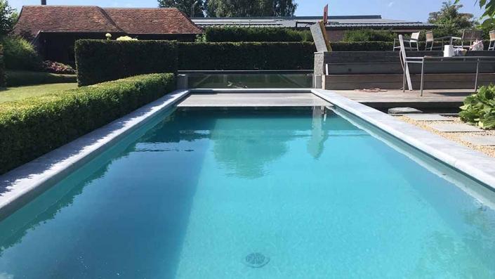 Feys-Schouppe zwembad plaatsen