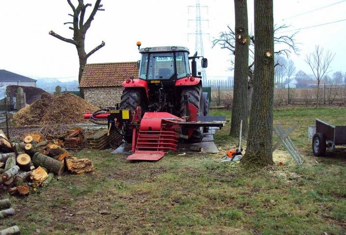Feys-Schouppe tuinaanneming hout klieven